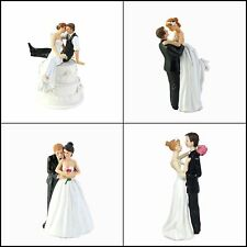 Wedding - Cake Topper Funny Bride & Groom Decorative Wedding Cake Toppers New