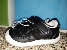 Surprize By Stride Rite Alec Boys Toddler Shoe Black White Size 3 Size 4