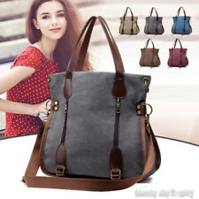 New Women Hobo Shoulder Bag Satchel Cross Body Tote Handbag Purse Canvas