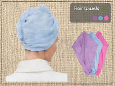 Mothers Day Gift Bamboo Hair Towel - Great Super Absorbent Hair Drying Towel