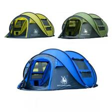 Large Outdoor Beach Camping Picnic waterproof 3-4persons throw tent automatic