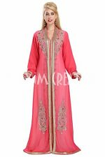 EXCLUSIVE ARRIVAL MARRIAGE MOROCCAN CAFTAN DESIGN FOR WOMEN DRESS 5857