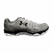 Under Armour Women's UA Micro G Engage Running Shoes, Steel/Black/White