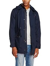 Fred Perry Men's Fishtail Parka, Bright Navy