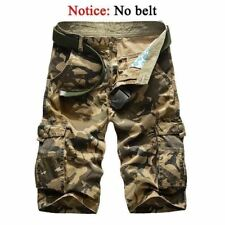 New Camouflage Cargo Shorts Loose Men's Military Trousers Size 29-44 Casual Pant