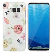 Case Cover For Samsung Galaxy S6 S7 Edge S8 S9 Plus Flowers Red Roses Plants