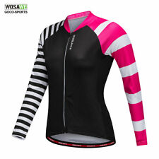 Women Cycling Jersey Long Sleeved Riding Bike Bicycle Shirt Breathable MTB Pro