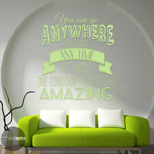 You can go anywhere you want Anytime you want Dr Who Vinyl Wall Decal Sticker