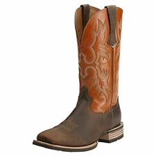 Ariat Men's Tombstone Western Cowboy Boot, Distressed Brown/Sunnyside