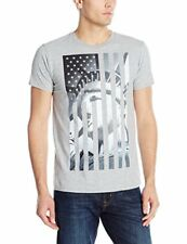 Hanes Men's Graphic T-Shirt - Americana Collection, Liberty Flag
