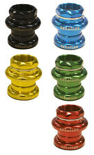 """DERAiLED Steel Threaded Scooter Headset 1 1/8"""" Various Colours FREE POST"""