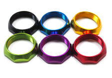 DERAiLED SCOOTER / BICYCLE HEADSET LOCK NUT / LOCKING RING ALLOY