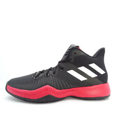 Adidas Mad Bounce [CQ0490] Men Basketball Shoes Black/White-Red