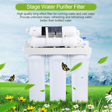 5/6Stage White Reverse Osmosis Drinking Water Filter System Fountain Purifier