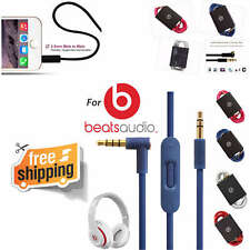 Audio Cable Beats By Dr Dre Headphones Wire Cord For AUX with Mic Color HD