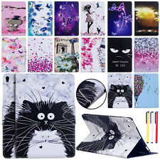 "For iPad 9.7"" 2018/Air 2/mini Smart Leather Flip Painted Case Wallet Stand Cover"