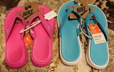 NWT Nike Celso Women's Thong Flip Flops Sandals Shoes Blue Pink You Choose!