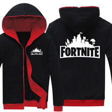 Fortnite Hoodie Battle Royale Hooded Jacket Mens Boys Victory Royale PS4 Xbox