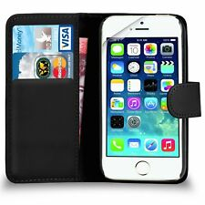 For APPLE IPHONE 5/5S/SE Premium Leather Magnetic Flip Wallet Case Cover