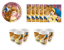 Beauty And The Beast Party Supplies Tableware Table Decorations 36 Piece Kit Lot