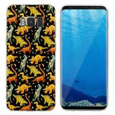 Case Cover For Samsung Galaxy S6 S7 Edge S8 S9 Plus Reptiles Dinosaurs Lizards
