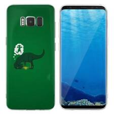 Case Cover For Samsung Galaxy S6 S7 Edge S8 S9 Plus Lizards Reptiles Dinosaurs