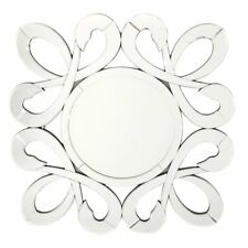 Fab Glass and Mirror Fiori Round Wall Mirror - 31.5W x 31.5H in.