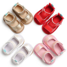 0-18M Baby Infant Sandals Baby Girls Summer Shoes Newborn Crib Shoes Soft Sole