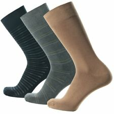 SOLAX Men Socks Supima Cotton Classic Dress Half Calf Bussiness Office 3 pairs
