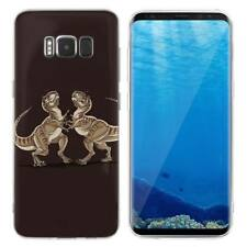 Case Cover For Samsung Galaxy S6 S7 Edge S8 S9 Plus Animals Raptors Dinosaurs