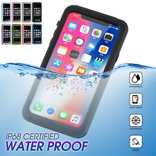 F iPhone X 7 8 Plus Waterproof Shockproof Snow Dirt Proof Heavy Armor Cover Case