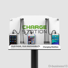 New Wall mounted/Floor Standing Cell Phone Fast Charging Station for Cell phone