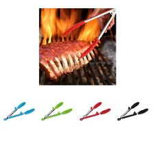 Stainless Steel Barbecue Food Tong Home Kitchen Clamp BBQ Grilling Tool Clip