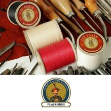 Fil au Chinois No.532 Waxed Lin Cable Leatherwork Linen sewing Thread 0.57mm DIY