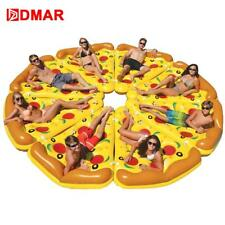 DMAR Inflatable Pizza Giant Pool Float Beach Mattress 180CM Swimming Ring...