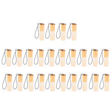 24pcs 5ml Glass Empty Roll On Perfume Essential Oil Bottles Containers