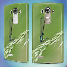 DAMSELFLY GRASS INSECT MACRO HARD BACK CASE COVER FOR LG PHONES