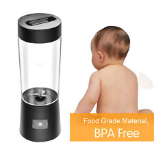 Portable Rechargeable Mini Cup Fruit Juicer Smoothie Maker USB Electric Blender