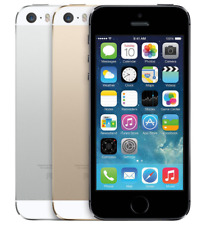 "Apple iPhone 5S 3G/4G LTE GSM (32GB/64GB) IOS 8MP 4"" Unlocked Smartphone (A1453)"