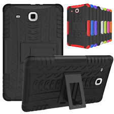 Rugged Shockproof Hybrid Silicon Hard Stand Case Cover For Samsung Galaxy Tablet