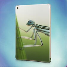 NATURE INSECT DAMSELFLY LEAF BACK HARD CASE COVER FOR APPLE IPAD