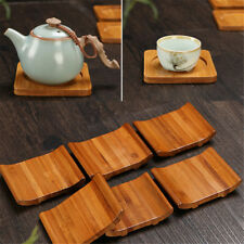 Bamboo Heat Insulation Cup Mat Pad Placemat Tea Coffee Drink Coaster Table Decor