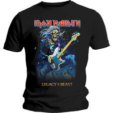 Iron Maiden Eddie Legacy of the Beast Tour Official Tee T-Shirt Mens