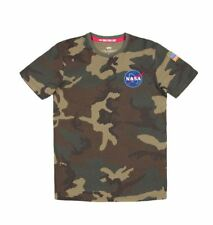 Alpha Industries T-Shirt Space Shuttle T 176507/408 Wodl. Camo 65 New