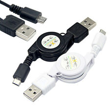 Retractable Micro USB A to USB 2.0 B Male Cable Sync Data Charger for Android