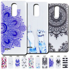 For LG Clear Case Cover Shockproof Soft Skin Silicone TPU Rubber Protective Back