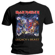 Iron Maiden Legacy of the Beast Steve Harris Official Tee T-Shirt Mens Unisex