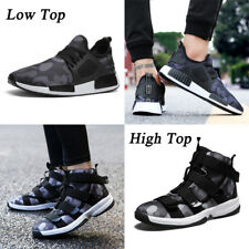Mens Camouflage Sport Shoes Breathable Big Size Running Walking Casual Shoes New