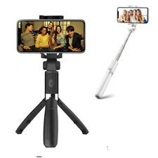 Extendable Selfie Stick Tripod Wireless Remote Bluetooth Shutter For Iphone 8 7