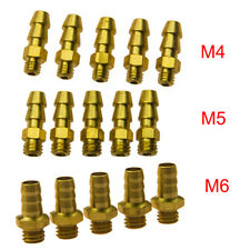 5pcs/10pcs M4/M5/M6 Universal Brass Threaded Water Nipples for RC Boat Watercraf